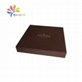 Simple jewelry gift box with logo