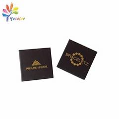 Black jewelry package box