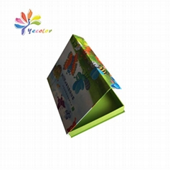 Customized toy package box