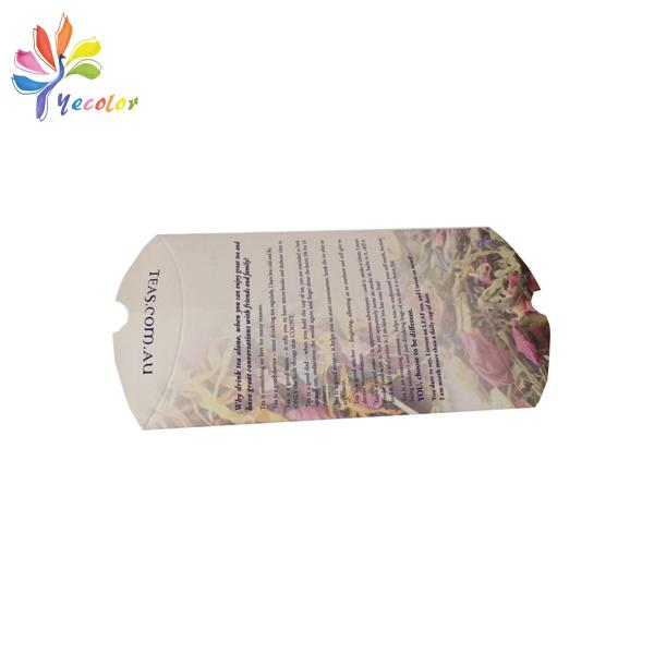 Customized pillow box for flower tea package 1