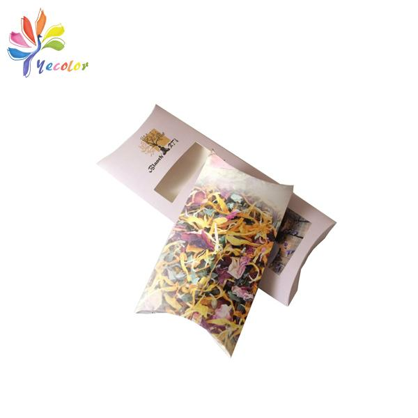 Customized pillow box for flower tea package 4
