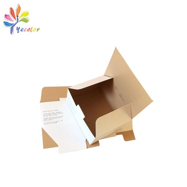 Double side printing paper box  1