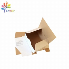 Double side printing paper box