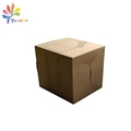 Kraft paper candle box with window