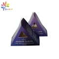 Printing triangle cosmetic paper box