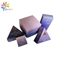Customized cosmetic package with silver logo
