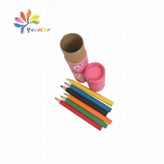 Customized paper tube for pencil package