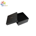 Customized black belt packaging box