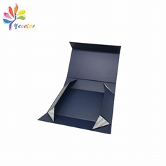 Customized collapsible gift box for garments package