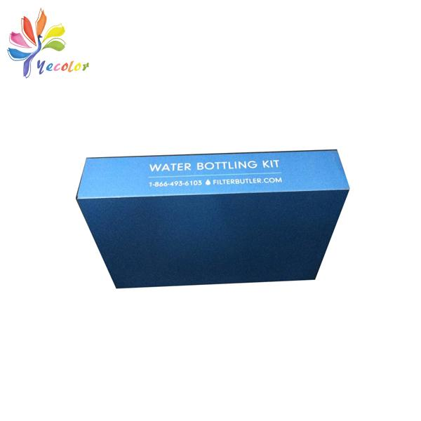 Corrugated paper box with sleeve  1