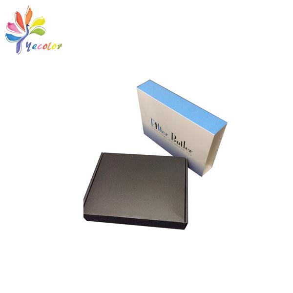 Corrugated paper box with sleeve  2