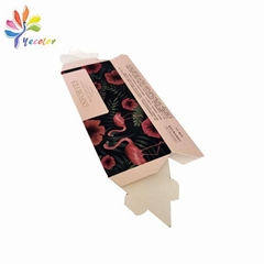 Customized triangle paper box for facial cleanser