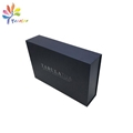 Custom collapsible gift box with stamping silver logo
