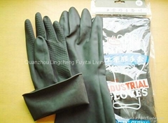 Latex working gloves