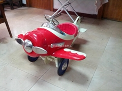 飞机金属童车