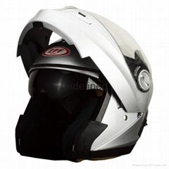 Flip up chin bar helmet with bluetooth--ECE/DOTcertification