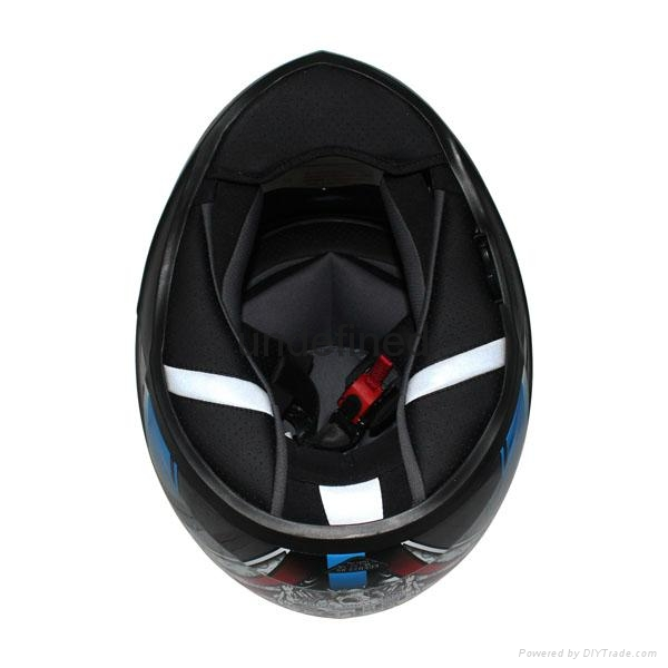 High quality ECE Approved Motorcycle double visor helmet with ECE Approved 5
