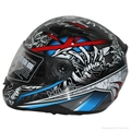 High quality ECE Approved Motorcycle double visor helmet with ECE Approved 1