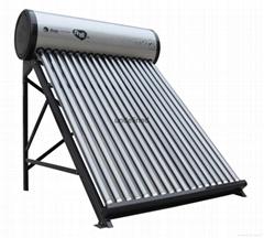 拉丝银太阳能热水器