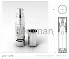 cosmetic single layer A/B bottles