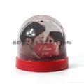 High Quality Plastic Snow Globe With Photo Insert 2