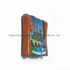Souvenir polyresin 3D fridge magnet