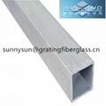 frp flat rectangle tube