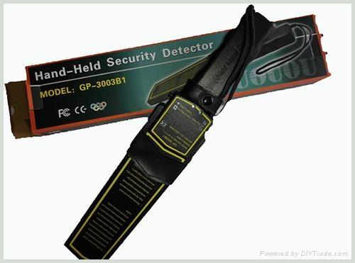 正品 GP-3003B1高灵敏度手持金属探测器  3