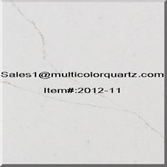 slabs artificial quartz multicolors for kitchen countertops