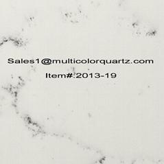 multicolor and artificial quartz for home kitchen countertop