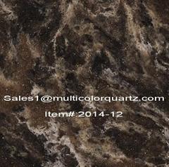 kitchen artificial quartz with multicolor,for kitchen countertop