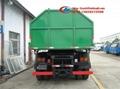 hooklift garbage truck