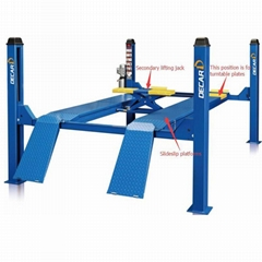 Auto hydraulic cylinder mechanical car lift used