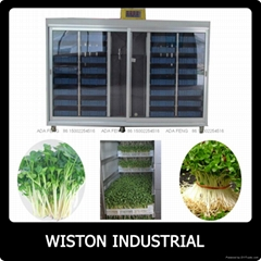 Hydroponic fodder machine for animals,barley sprouting machine