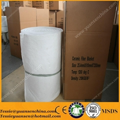 heat insulation ceramic fiber blanket