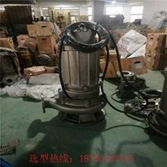 不锈钢高温潜水排污泵