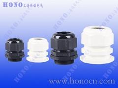 尼龍電纜防水接頭尼龍格蘭頭塑料填料函