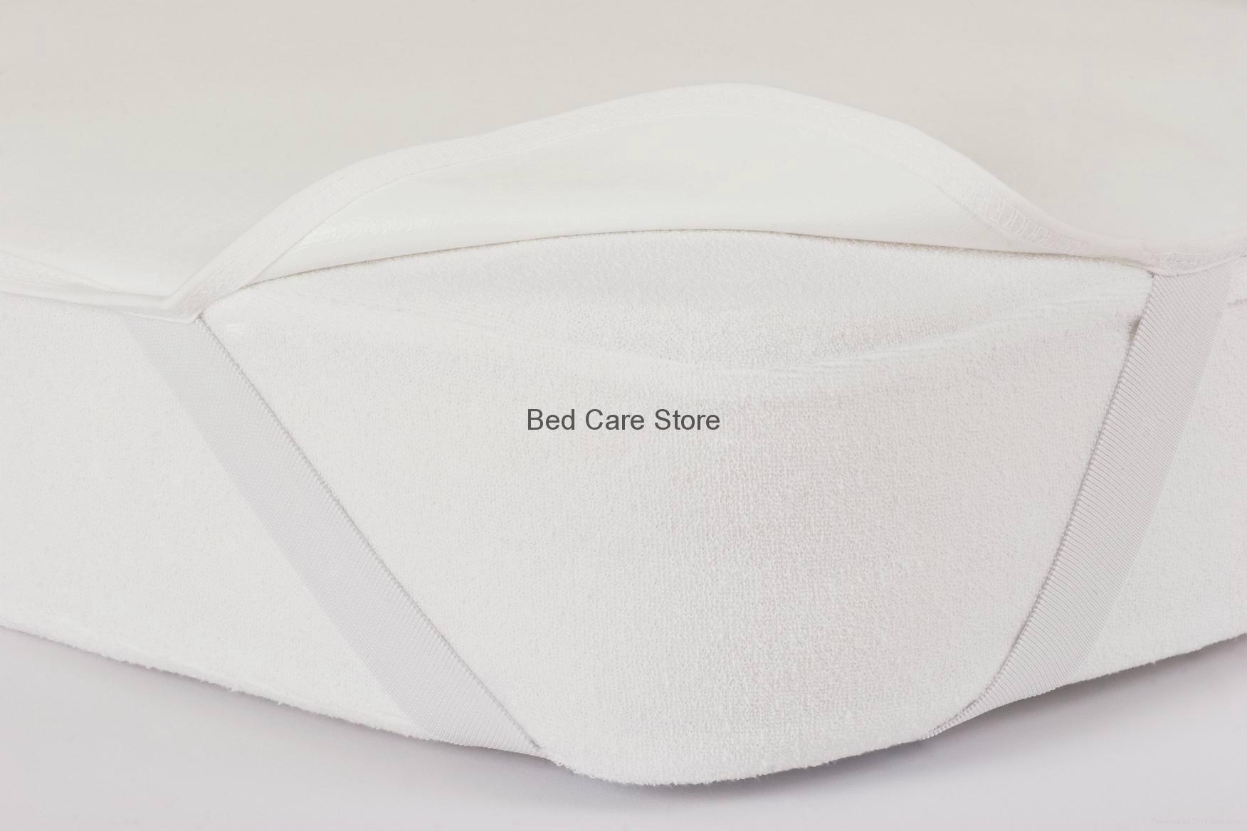 %100 Cotton Waterproof Flannel Mattress Protector 2