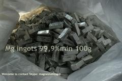 Sell magnesio en lingotes 99,9%min for aluminium alloying casting