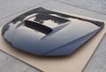 Carbon fiber hood bonnet for Subaru