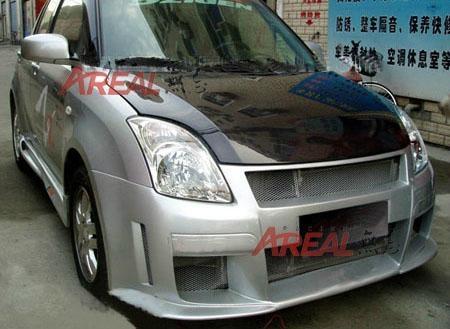 Suzuki swift oem bonnet hood in silver or black carbon - Car exterior decoration accessories ...