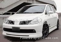 Nissan Tiida Sport auto body kits