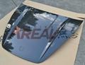 Porsche Cayenne carbon fiber hood 3