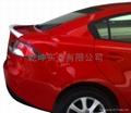 Mazda 2 sedan spoiler