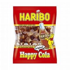 德國原裝進口Haribo哈瑞寶歡快可樂味軟糖QQ糖 75克