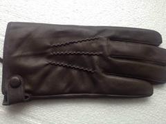 供应时尚保暖真皮猪皮手套