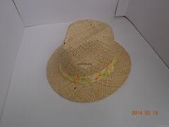 供應夏季草禮帽