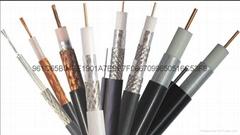 SYWV-75-5纯铜导体64编射频同轴电缆