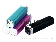 2000mAh Lipstick power bank with indicator