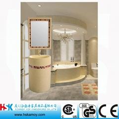 Arab style Bath Sink with Make Up Mirror